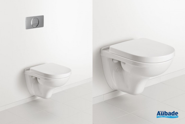 WC Villeroy & Boch ensemble wc suspendu O.novo Compact