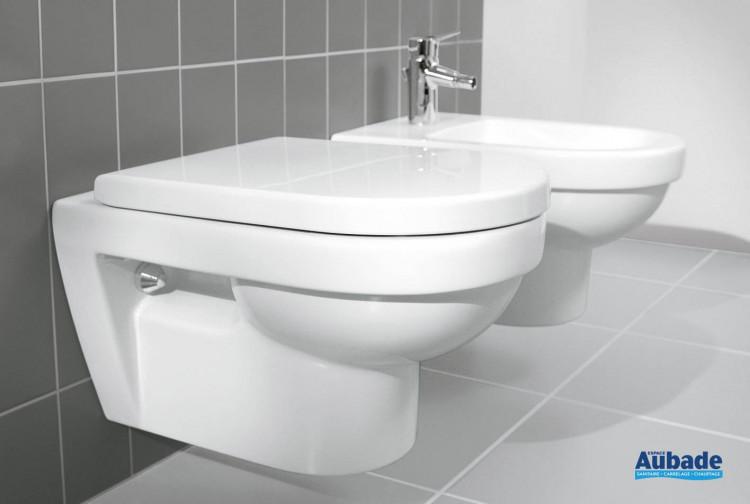 WC Villeroy & Boch wc suspendu avec cuvette à fond creux Targa Architectura