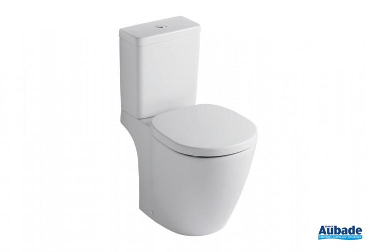 Pack cuvette sur pied Connect blanc de Ideal Standard