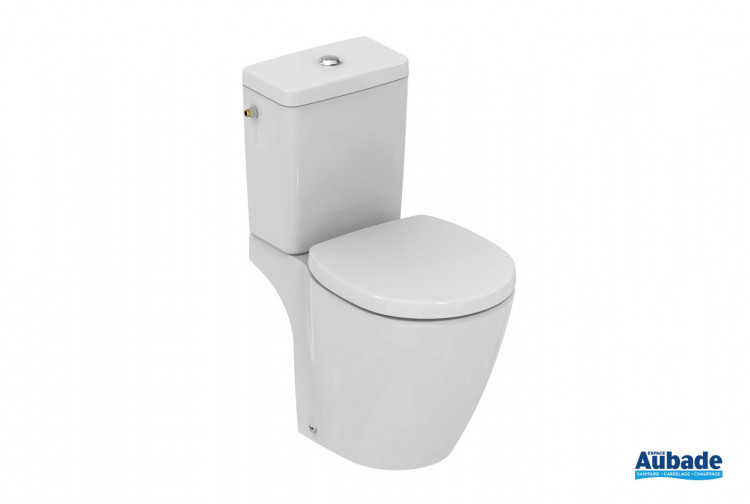 Pack WC sur pied Connect Space blanc de Ideal Standard