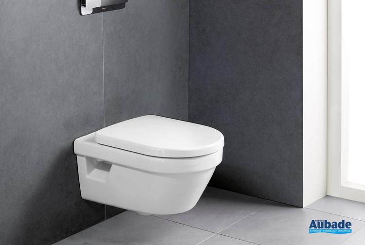 Pack WC avec cuvette suspendue sans bride Architectura DirectFlush de Villeroy & Boch