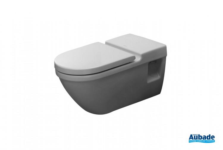 WC Duravit WC suspendu collectif PMR Starck 3