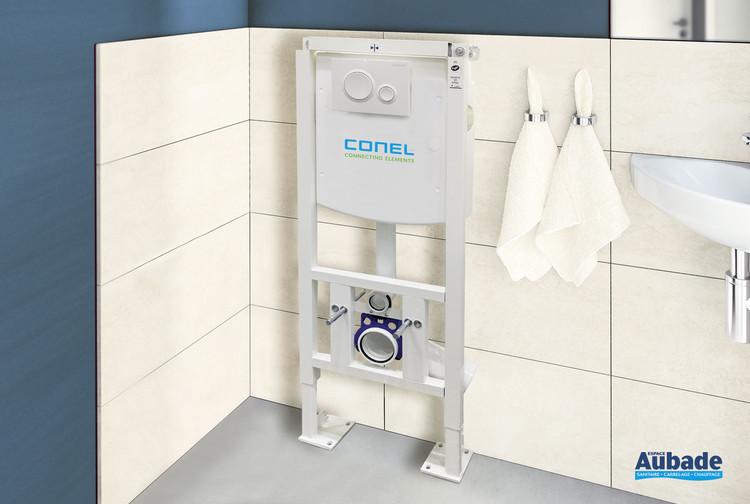 Bâti-support autoportant pour wc suspendu de la marque Conel