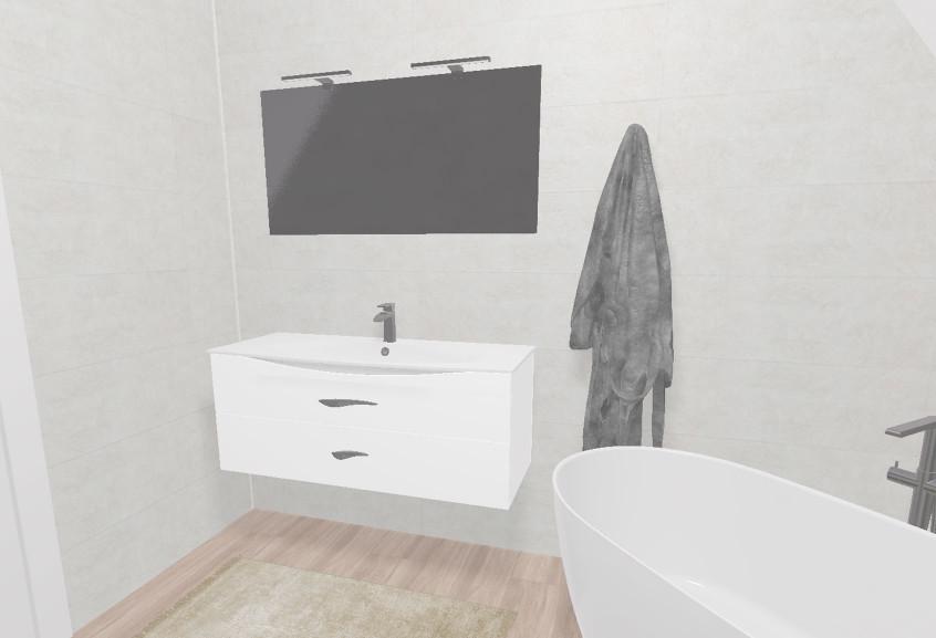 Meuble Flore salle de bain grande moderne et design