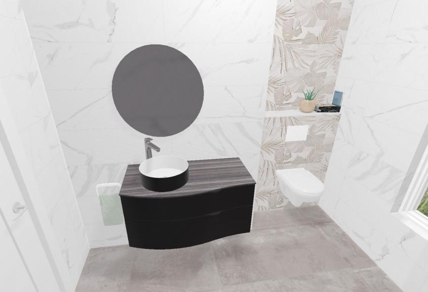 Stiletto petite douche moderne et design