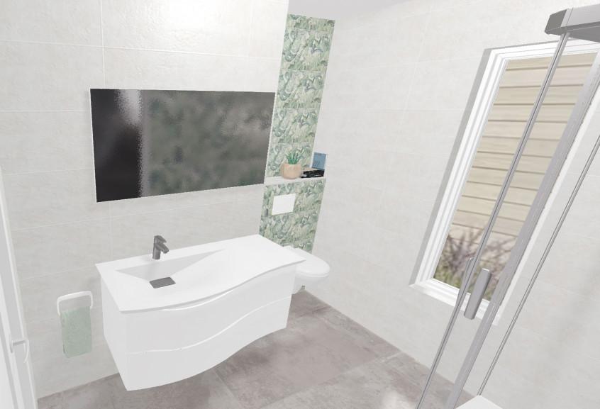Twist petite douche moderne et design