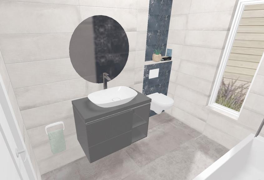 Vogue petite baignoire moderne et design