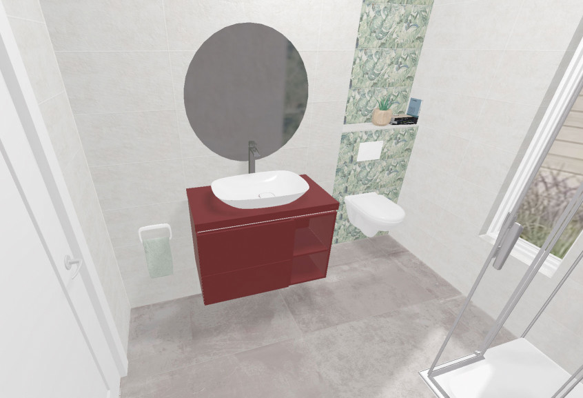 Vogue petite douche moderne et design