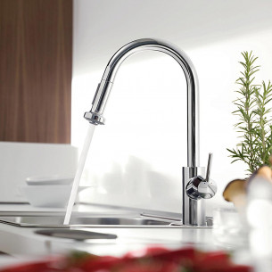robinets évier de cuisine Hansgrohe Talis S2 Variarc