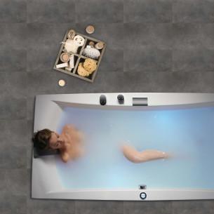 baignoire balnéothérapie Grandform Tabliers bi-matières