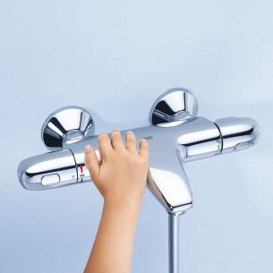 Robinets pour bain/douche Grohe Grohtherm 1000 de bain