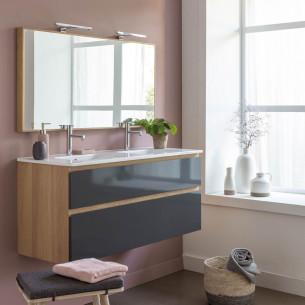 Meubles vasque suspendus ou sur pieds avec 2 tiroirs Effect 2 par Line Art