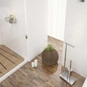 Accessoire porte papier WC et porte balais WC de Gedy