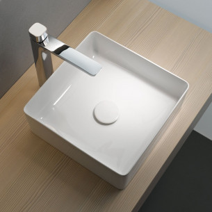 lavabo, vasque Living Square Saphirkeramic Laufen
