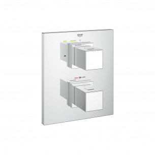 solution thermostatique encastrée Grohtherm Cube Grohe