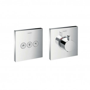 Set de finition pour mitigeur thermostatique ShowerSelect de Hansgrohe