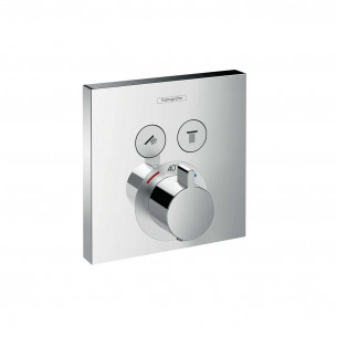 Set de finition pour mitigeur thermostatique ShowerSelect encastré avec 2 fonctions