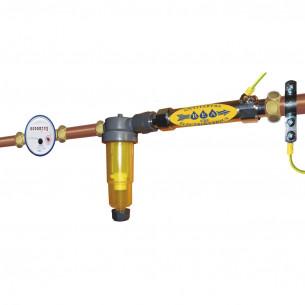 Antitartre electrolytique + filtration - Pack Rea CR2J