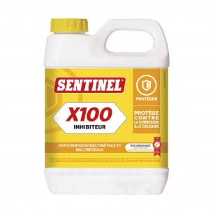 Accessoires chauffage Sentinel inhibiteur corrosion et tartre chaudière Sentinel X100