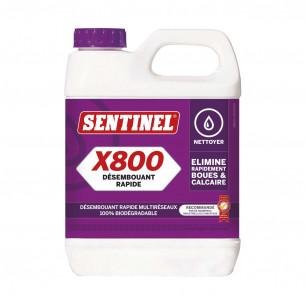 Accessoires chauffage Sentinel nettoyant superpuissant et détartrant Sentinel X800 Jetflo