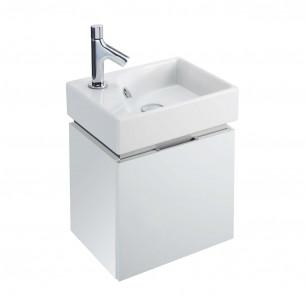 Lave-mains Rythmik avec meuble Cappuccino Jacob Delafon