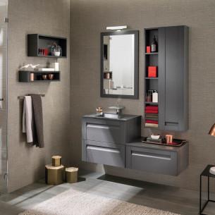 Meuble salle de bain Unique Wood 60cm