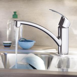 robinets évier de cuisine Grohe Eurosmart profilé