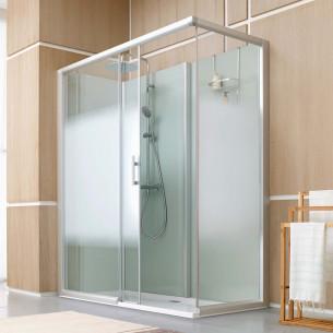 Cabine multifonction leda access douche fermée