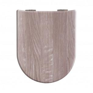 Abattant WC Olfa abattant Angora Wood Décor bois ariane