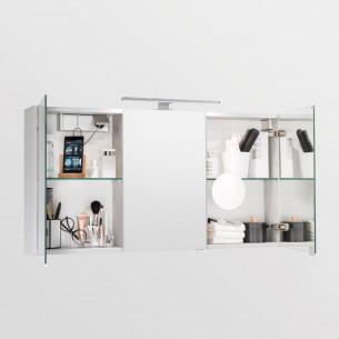 Armoire de toilette Armoire 3 portes