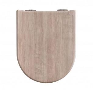 Abattant WC Décor bois mat Baltik Oak