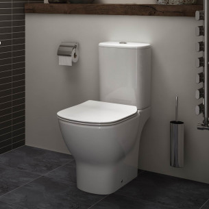 Pack WC sur pied sans bride Tesi AquaBlade® blanc de Ideal Standard