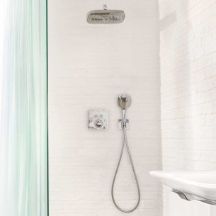 Pack encastré douche thermostatique Select de Hansgrohe