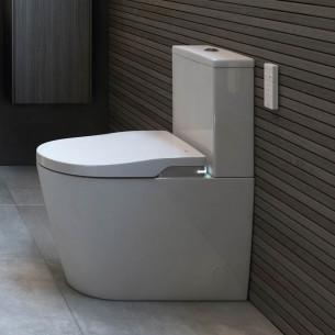 Pack WC lavant sur pied In-Wash® Inspira blanc de Roca