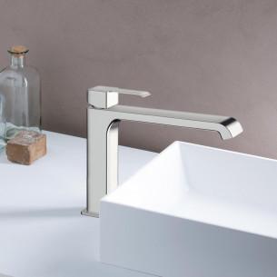 Mitigeur lavabo medium sans vidage Quadrata de Cristina