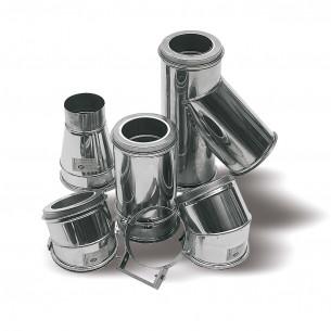 Accessoires chauffage Ten conduits en inox Opsinox pour chaudière