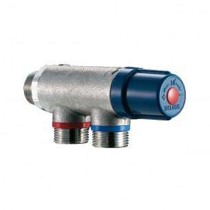 Accessoires robinets Delabie régulateur thermostatique pour 1 ou 2 robinets