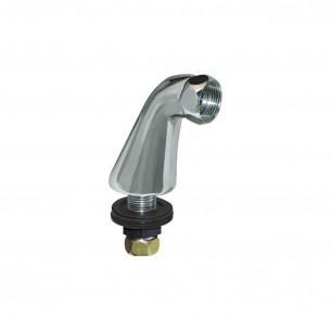 Accessoires robinets Presto colonnette robinet avec rosace ou embase fondue
