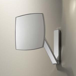 accessoire salle de bains keuco miroir carre grossissant ilook move