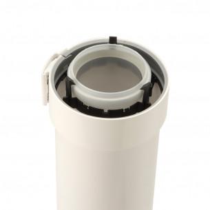 accessoires chauffage ubbink domestique conduit 1m