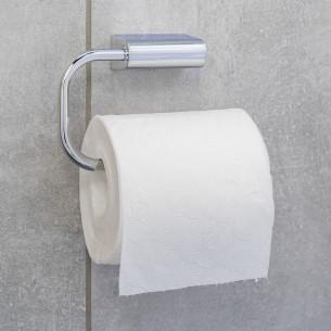 Dérouleur papier WC à fixer Clivia finition chromé de la marque Vigour
