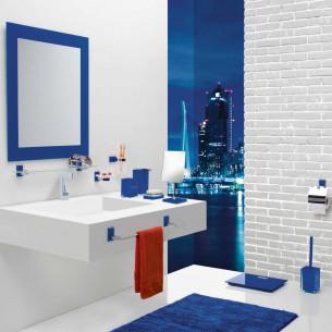accessoires de toilette Gedy ensemble accessoires colorés Maine & Rainbow