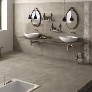 Carrelage motif carreau ciment
