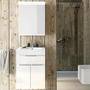 Armoire de toilette 1 porte Égoiste de Decotec