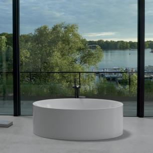 Baignoire en îlot ovale et design BetteEve de la marque Bette