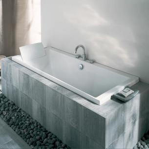 Baignoire bain et douche rectangulaire en acrylique Evok de Jacob Delafon