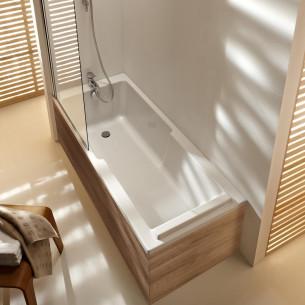Baignoire bain et douche Struktura en acrylique de Jacob Delafon