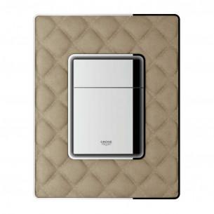 Bati-support Grohe plaque de commande wc Cuir