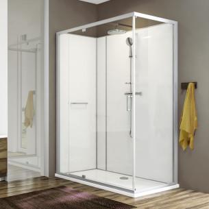 Cabine de douche intégrale Moorea de Hoesch by Leda - pivotante L.140 avantage