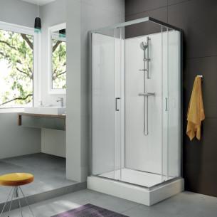 Cabines de douche intégrales Sélection Aubade 1 de Leda